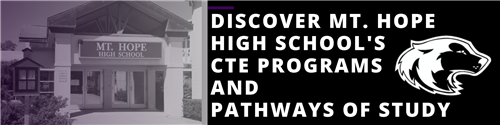 Discover Mt. Hope High School's CTE Programs and Pathways of Study